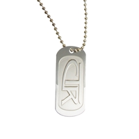 CTR Dog Tag Necklace