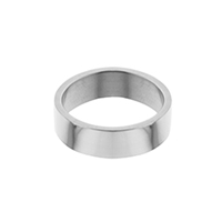 Flat Stainless Steel Narrow Ring