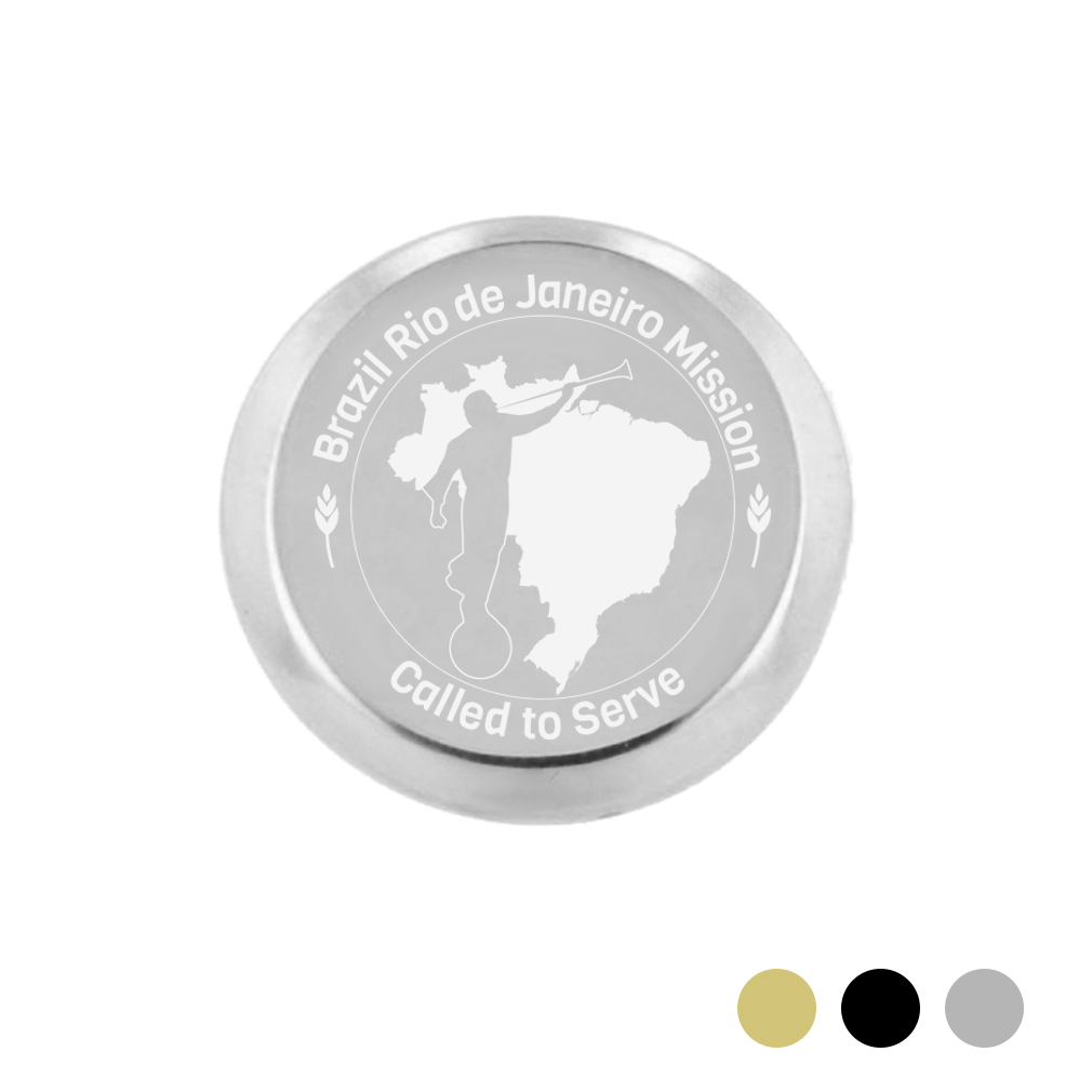 Brazil Mission Pin - LDP-TPN1012