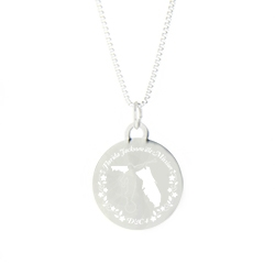 Florida Mission Necklace - Silver/Gold