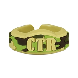 Adjustable Camouflage CTR Ring