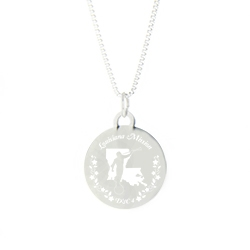 Louisiana Mission Necklace - Silver/Gold
