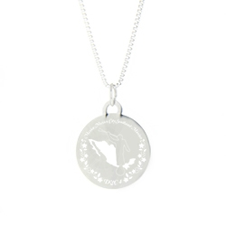 Mexico Mission Necklace - Silver/Gold