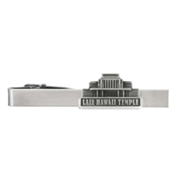 Laie Hawaii Temple Tie Bar - Silver