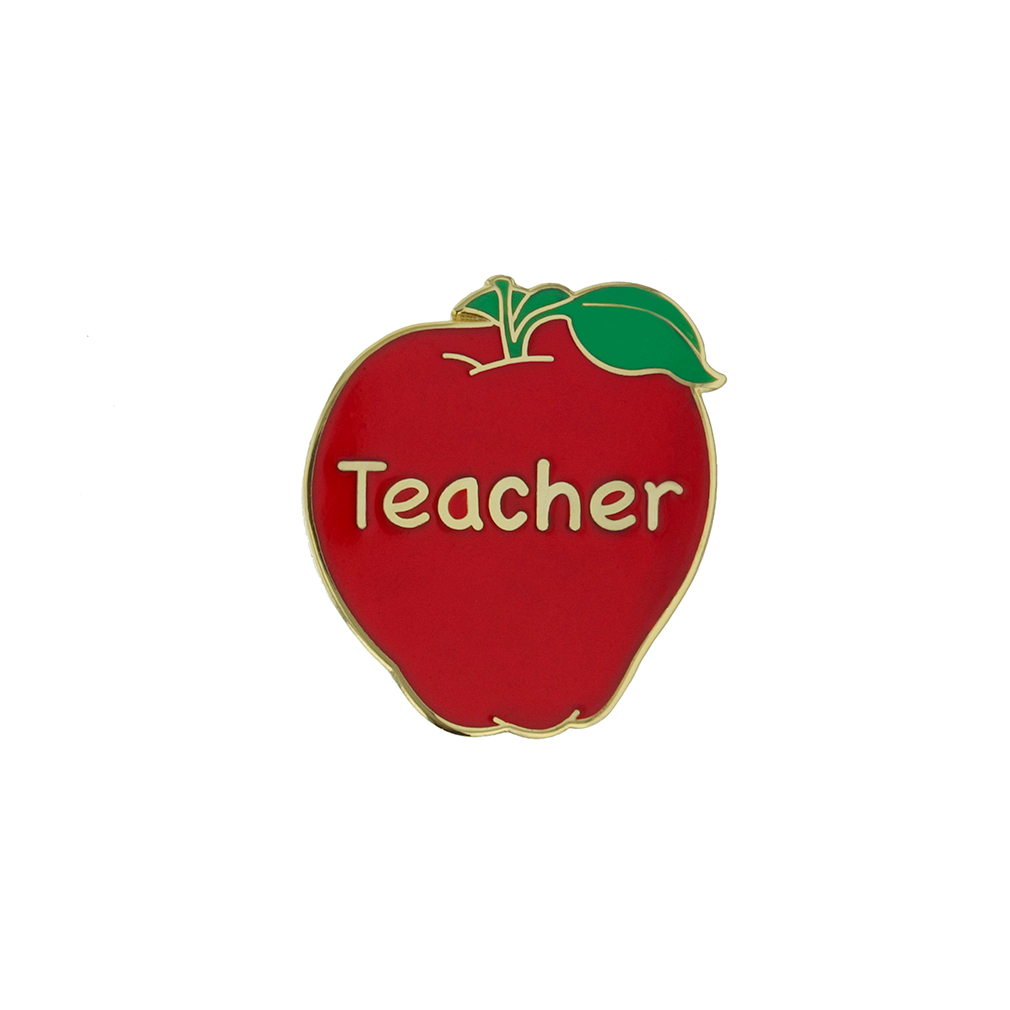 Apple Teacher Pin - SA-TPN049